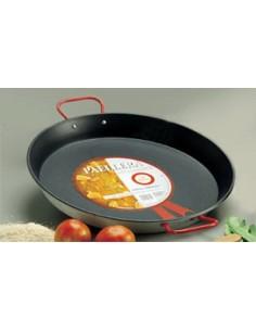 Flat Paella Xylan Garcima G05-206 GARCIMA® LaIdeal Stainless steel Paella Pans Antiadhésive HQ Garcima