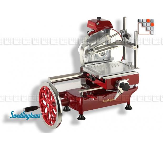 Slicer Volano 250 SWEDLINGHAUS S43-AF250VOL SWEDLINGHAUS® Manuals Slicers BERKEL & SWEDLINGHAUS