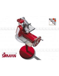 Piedestal rouge de Trancheuse SIRMAN