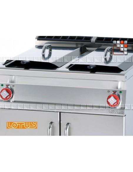 Fryer 400V SuperLotus 70 LOTUS L23-F2/1878ET LOTUS® Food Catering Equipment Fryers Wok Steam-Oven