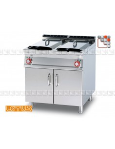 Fryer 400V SuperLotus 70 LOTUS L23-F2/1878ET LOTUS® Food Catering Equipment Fryers Wok Steam-Oven