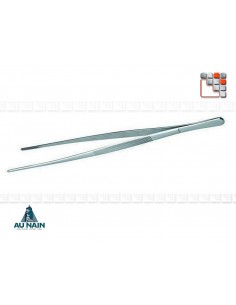 Pince à Dresser Inox Plancha L30 AUNAIN A38-1195506 AU NAIN® Coutellerie Couverts de Service