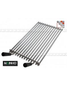 Grille Inox pour Grill ELB MAINHO M36-RELBI MAINHO SAV - Accessoires Pièces détachées Gaz MAINHO