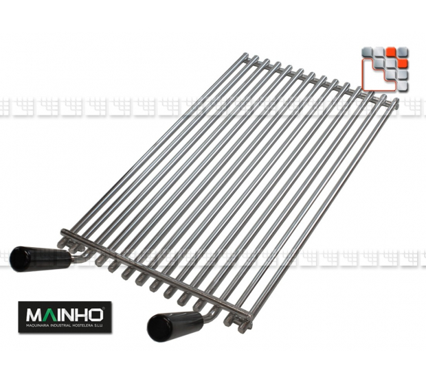 Stainless steel grid for Grill ELB M36-RELBI MAINHO SAV - Accessoires MAINHO Spares Parts Gas