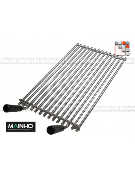 Grid Stainless steel Grill ELB Mainho M36-RELBI MAINHO SAV - Accessoires MAINHO Spares Parts Gas