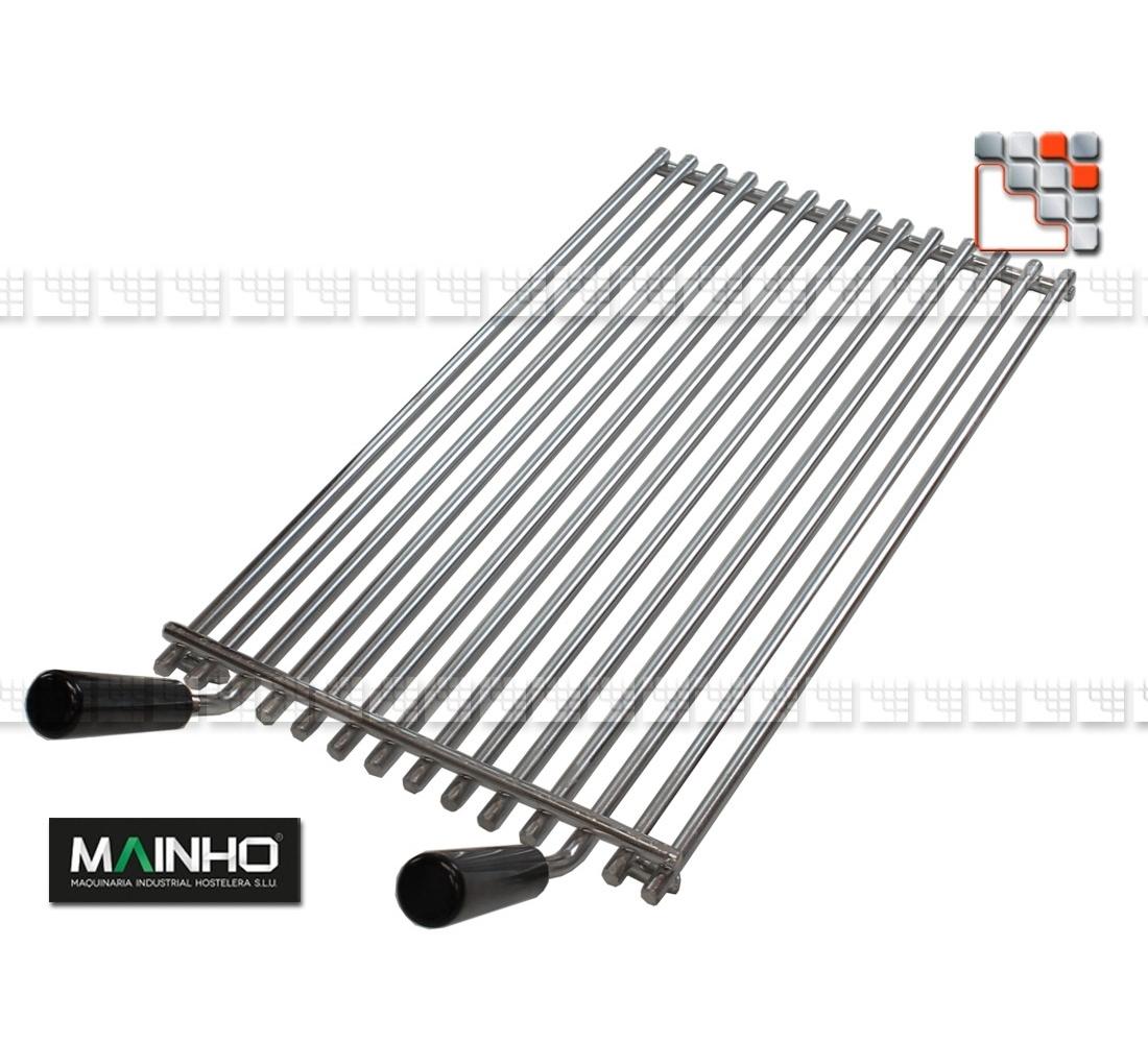 grille de barbecue inox pour grill elb ecoline mainho. Black Bedroom Furniture Sets. Home Design Ideas