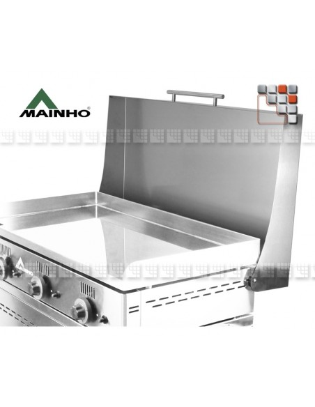 Plancha Gas NS-80 Cast iron and ground Mainho