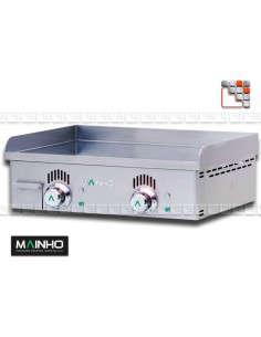 Plancha NCEM-60N 230V Novo-Crom Mainho M04-NCEM60N MAINHO® Plancha MAINHO NOVO CROM SNACK