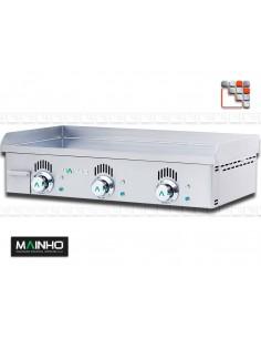 Plancha NCEM-80 Novo-Crom 230V Mainho NCEM-80 MAINHO® Planchas MAINHO NOVO CROM SNACK