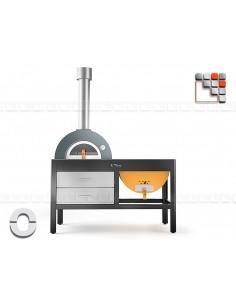 La Plancha Grill&Oven TOTO Alfa Refrattari A32-TOTO ALFA PIZZA® Mobil Oven ALFA PIZZA