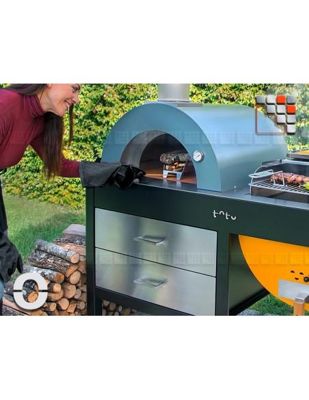 Plancha Grill Four Toto Alfa Refrattari Fours Mobiles Alfa Pizza