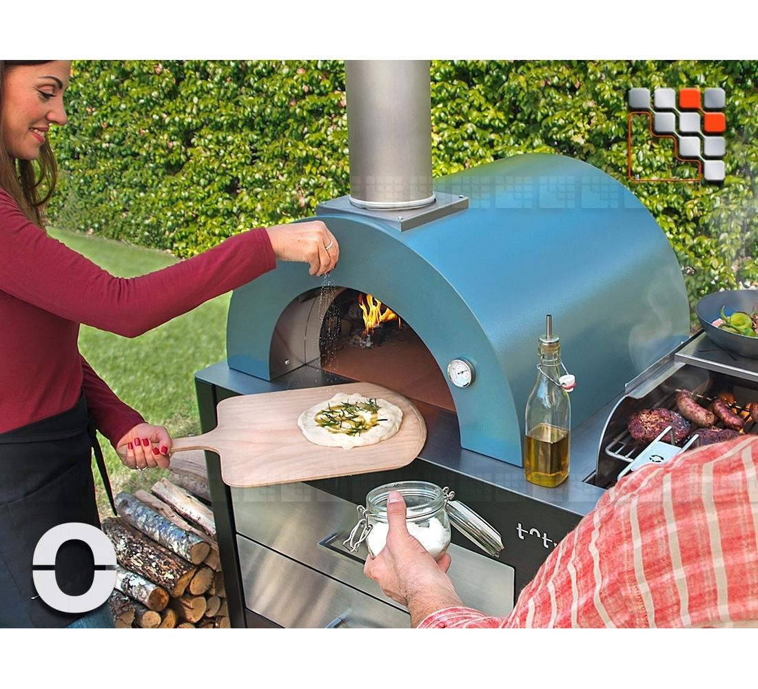 la plancha grill oven toto alfa refrattari for pizzaiolo. Black Bedroom Furniture Sets. Home Design Ideas