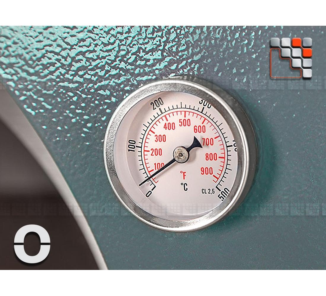 Thermomètre Four À Pain 500 plancha grill&four toto alfa refrattari - fours mobiles alfa