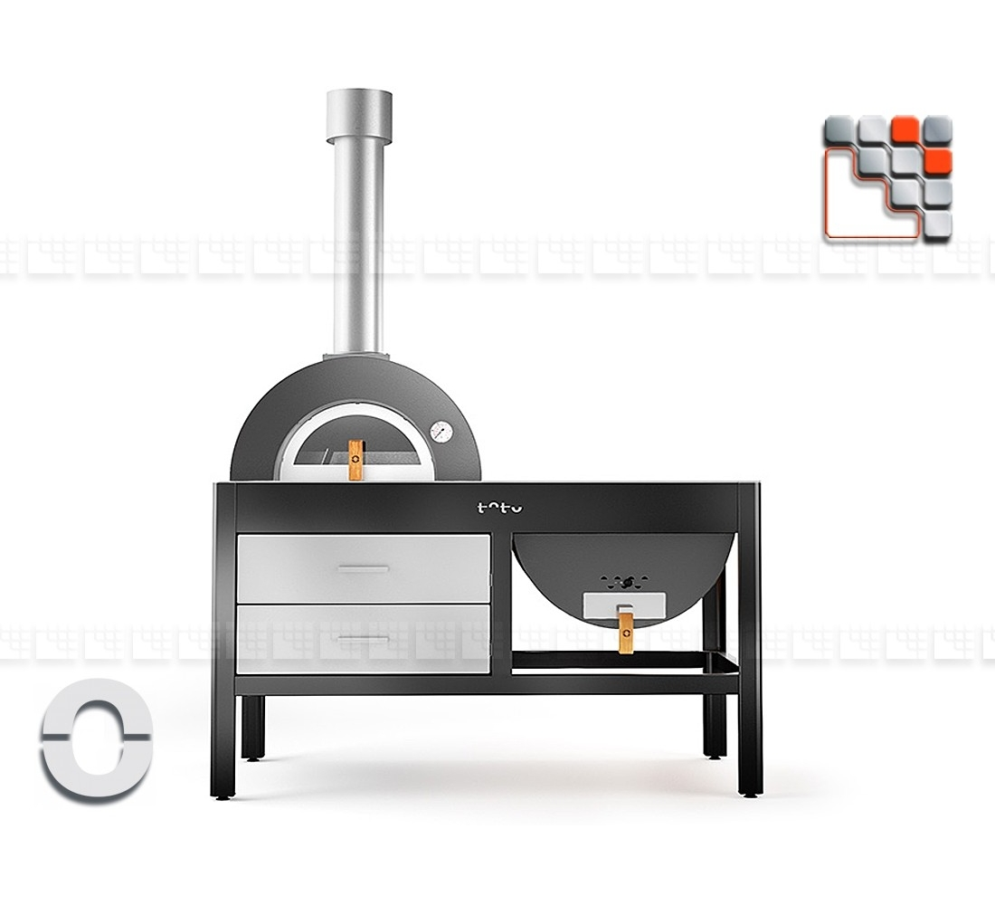 plancha grill oven toto alfa refrattari for pizza and. Black Bedroom Furniture Sets. Home Design Ideas