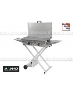 Chariot Pliable pour Plancha ECO Mainho