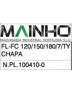 Exploded View FL - FC 120 150 180 TY M99-N FC TYX MAINHO® Instruction Manual Guides