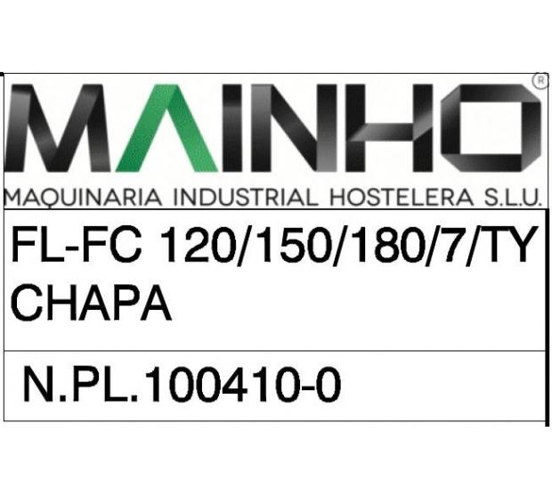 Vue Eclatée FL-FC 120 150 180 TY 799MHN-FCTYX MAINHO® Instruction Manual Guides