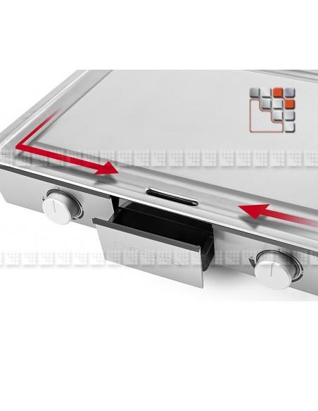 Teppanyaki Plancha QPL830 L10-QLP830 LACOR® Plancha Mobile à Poser