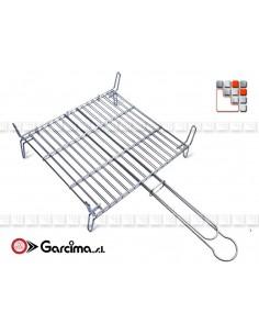 Grill Inox Reversible pour Barbecue G46-300 GARCIMA La Ideal - Accessoires Barbecue Four et Accessoires