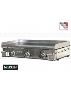 Plancha NS-100 Cast iron Mainho NS-100 MAINHO® Plancha MAINHO NOVO CROM SNACK
