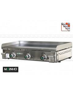 Plancha NS-100 Novo-Snack Mainho NS-100 MAINHO® Planchas MAINHO NOVO CROM SNACK