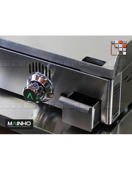 Plancha Gaz NC-100 Novo-Chrom Mainho