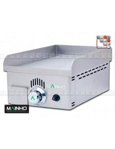 Plancha NS-40 Gas Cast iron Mainho M04-NS40N MAINHO® Plancha MAINHO NOVO CROM SNACK