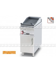 Grill Gaz sur meuble Inox SuperLotus CW-74G LOTUS® Food Catering Equipment Royal Nova Bras Grill Parillas