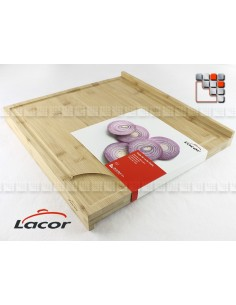 Board has cut out DUAL Bamboo LACOR L10-60492 LACOR® Kitchen Utensils