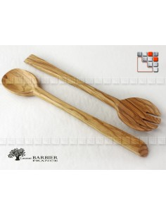 Covered in Nice olive Wood LB B18-301193 LaurentBarbier France Kitchen Utensils