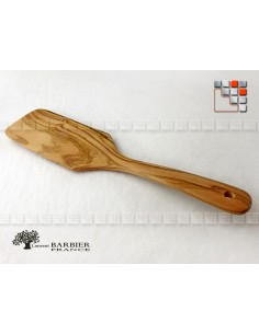 Olive Wood Plancha Slice Server L30 LAURENT BARBIER B18-303033 LAURENT BARBIER France Couverts de Service