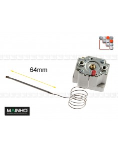 Thermostat securité 240C 20A 230V Mainho