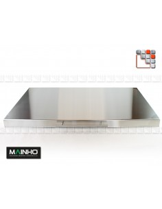 Stainless steel cover removable Griddle and Grill M36-2024 MAINHO SAV - Accessoires MAINHO Spares Parts Gas