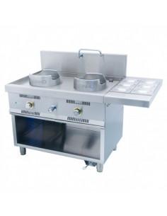 Wok W-211 MAINHO M04-W200 MAINHO® Fryers Wok Steam-Oven