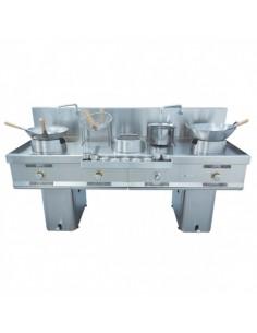 Wok W-300 Mainho M04-W300 MAINHO® Fryers Wok Steam-Oven
