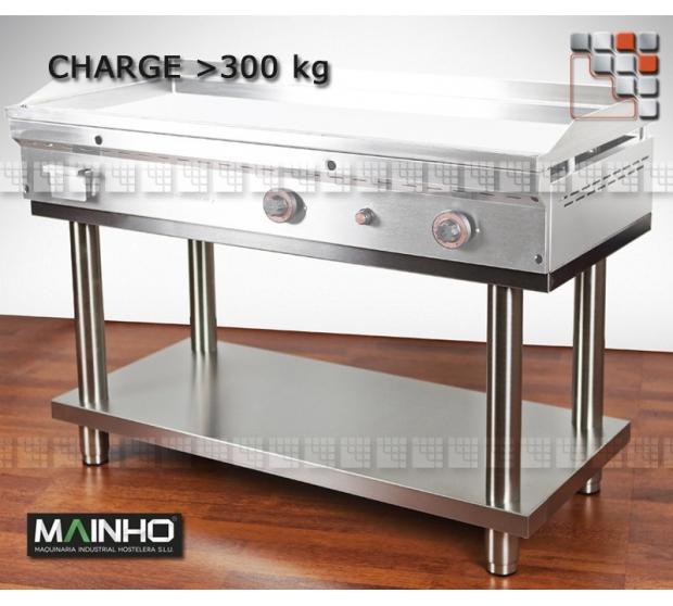 Chassis Inox Surbaisse MAINHO M36-STP/FC MAINHO® Dessertes & Chariots Bois Inox