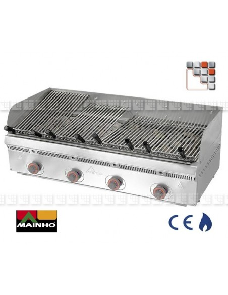 Grid Stainless steel for Vasca Grill Mainho M36-RAIV MAINHO SAV - Accessoires MAINHO Spares Parts Gas