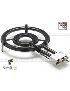 Burner Gas TT-380BFR VLC F08-TT380 FLAMES VLC® Burner Gas Flames VLC