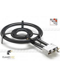 Gas Burner TT-380BFR VLC F08-TT380 FLAMES VLC® Burner Gas Flames VLC