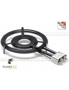 Burner Gas TT-500BFR VLC F08-TT500 FLAMES VLC® Burner Gas Flames VLC