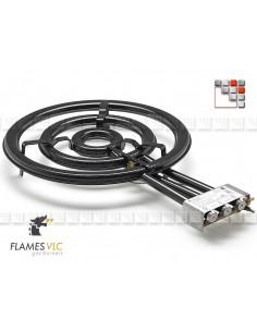 Bruleur Gaz TT-600BFR VLC F08-TT600 FLAMES VLC® Bruleur Gaz Flames VLC