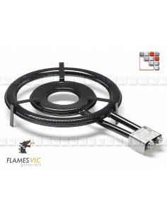 Bruleur Gaz T-500BFR Flames VLC