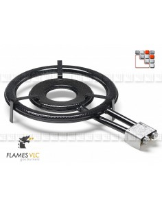 Burner Gas T-500BFR VLC F08-T500 FLAMES VLC® Burner Gas Flames VLC