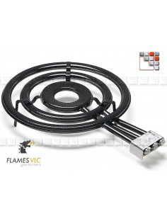 Bruleur Gaz T-700BFR VLC F08-T700 FLAMES VLC® Bruleur Gaz Flames VLC