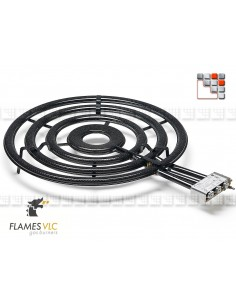 Gas Burner TT-900BFR VLC F08-TT900 FLAMES VLC® Burner Gas Flames VLC