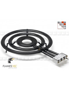 Burner Gas TT-700BFR VLC F08-TT700 FLAMES VLC® Burner Gas Flames VLC