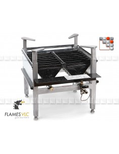 Burner Industrial Gas M-400 VLC F08-M400P FLAMES VLC® Burner Gas Flames VLC