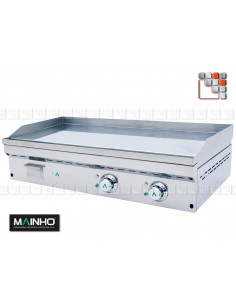 Fry-Top-FCE-120 Full Crom Mainho M04-FCE120 MAINHO® FryTops MAINHO EURO-CROM SNACK