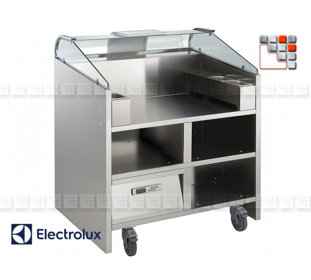 MOBILE POINT LIBERO 2 REFRIGERE 230V E55-C2C351080 ELECTROLUX PROFESSSIONNEL SAS Mobile Kitchen, Refrigerated