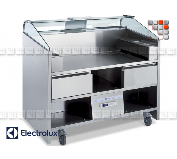 Cuisine mobile refrigeree hotte integree 130 - Cuisine mobile occasion ...